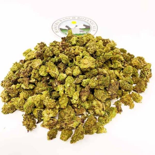indoor sour space candy hemp flower smalls